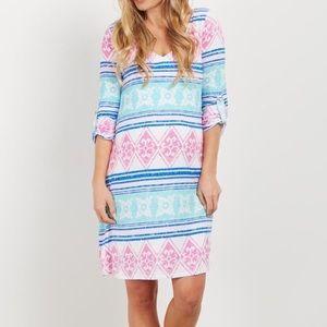 Pink Blush maternity dress, NWT. size M